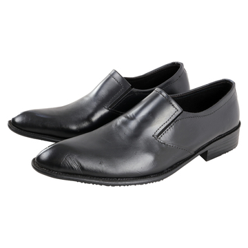 Classic Leather Official Formal Shoes Men Office Shoes Black 41