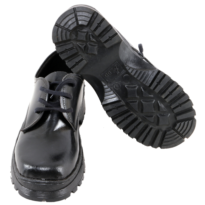 Back to School Boys' Shoes Black 7 Leather