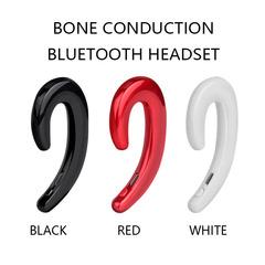 2019 new bluetooth 4.2 headset lug type wireless bone conduction universal business without earbuds black