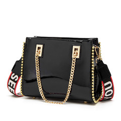 Women Fashion Handbags Female Bags Crossbody Bags Single Shoulder Ladies Purse Bags AS798 black one size
