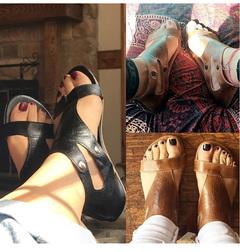 Women Shoes Soft Women Casual Summer Shoes Female Zip Plus Beach Shoes Women black 5
