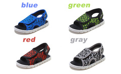 New children's sandals, boys 'and girls' babies, children's breathable casual shoes.Boys Shoes red internal length14.6cm