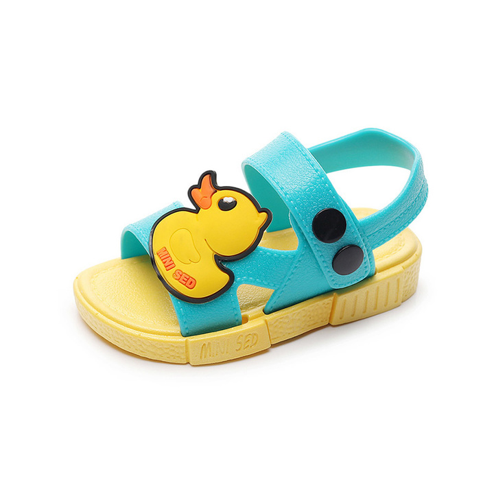 New fashion jelly boys girls shoes non-slippery sole children sandals Boys Shoes Sandals White shield internal length12cm