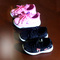 New children's sneakers, leisure shoes for boys and girls, soft bottom, breathable baby shoes. pink 21 yards