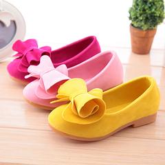 Girls dancing shoes princess shoes students bean shoes children shoes girls shoe tide pink 30 yards