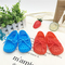 Soft-bottomed baby shoes, toddler shoes, wearable, breathable children's sandals. red internal length12cm