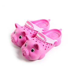 cartoon slippers for boys and cute baby girls Kids, Baby, Toys Boys Shoes Casual Shoes pink 24 yards