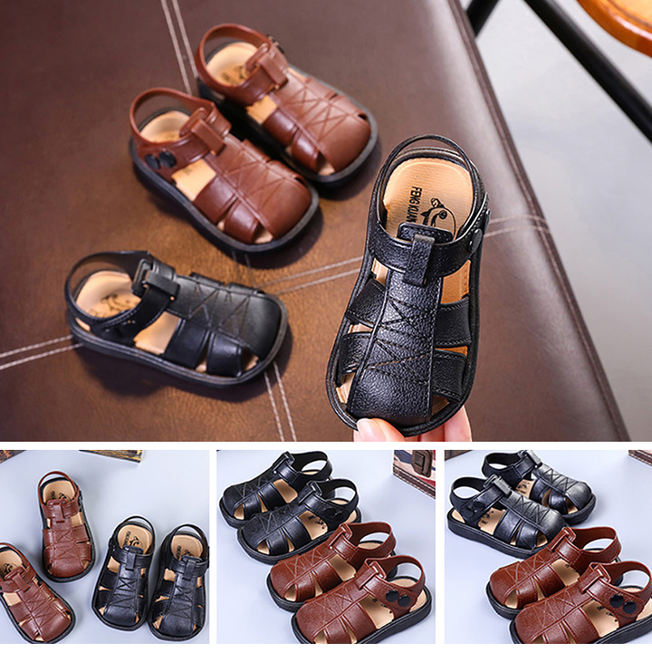 Boys Shoes Baby sandals Children's non-skid sandals men shoes Little Boys Shoes Kids, Baby, Toys pink 25 yards