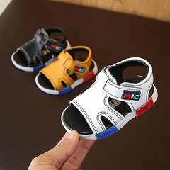 Baby sandals, boys 'beach shoes, kids' toes, soft shoes men shoes Boys Shoes toys white 15 yards