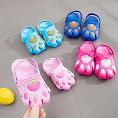 Children's sandals, new boys 'and girls' shoes, cartoon baby toddler shoes, head shoes. Rosemary Foot length14cm