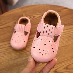 Girl Princess Single Shoe Baby Non-slip Walking Shoes Kids, Baby, Toys Girls Shoes Casual Shoes White 15 yards