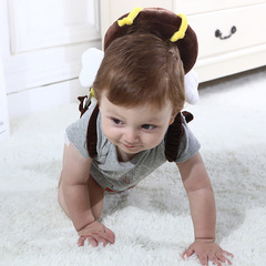 Baby walks head guard pillow child guard head guard angel wings Kids Baby Toys Maternity Products Yellow angel wings normal