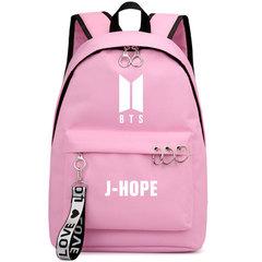 Kpop Bt21 Bts Backpack Student Bag Girl bts JUNG KOOK JIMIN Travel Bag Shoulder Laptop Backpack 3 one size