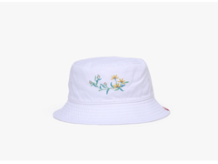 Lady Outdoor Women Bucket Hat Caps Autumn Spring Fisherman Cotton Fabric Sunscreen Double Layer cap White one size