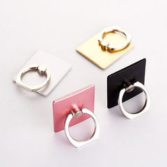 Mobile Phone Ring Holder Stand Accessories Grip Support Desk Smartphone Huawei Iphone Oppo Finger gold one size