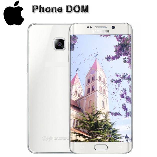Refurbished Samsung Galaxy S6 Edge Smartphone 5 1''screen 3GB RAM 32GB ROM  s6 edge white 32gb