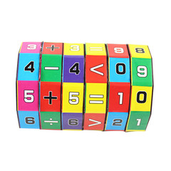 puzzles Mathematics Numbers Magic Cube Toy Kids Learning and Educational Toys Puzzle Game Gift