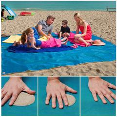 YIRAN Beach Free Beach Cushion Portable Blue Beach Cushion Anti-skid Sand blue