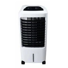 DUOLANG Portable Air Cooler Fan Humidifier Air Conditioner for Home Office white