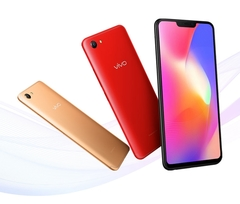 VIVO Y81S Mobile Phone 6.2 inches Full Screen Dual Rear Camera 4G LTE Cell phone gold