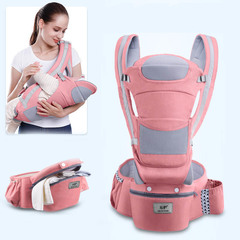 Baby Carrier Waist Stool Walkers Baby Sling Hold Waist Belt Backpack Hipseat Belt Kids Infant Sakura Pink( Four Seasons) ONE SIZE