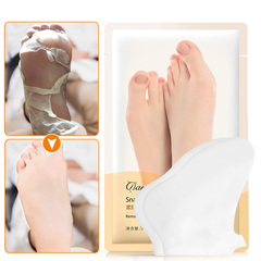 1Pack=2pcs Snail Extract Exfoliating Foot Mask Skin Cuticle  Pedicure Foot membrane