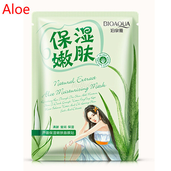 BIOAQUA 1Pcs Bright skin moisturizing and repairing aging contractive pore Aloe