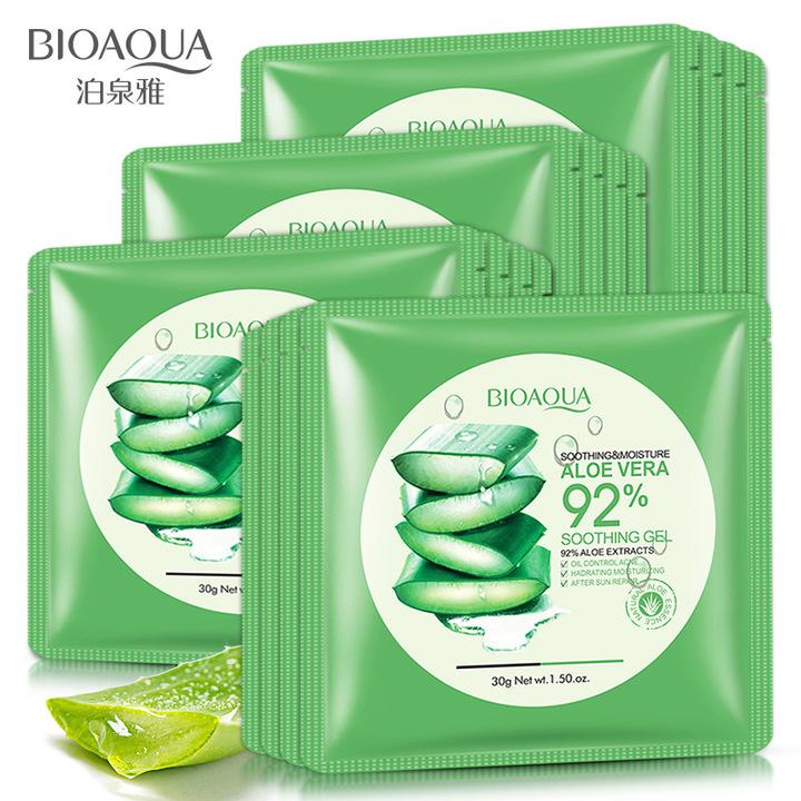 1pcs Aloe vera extract mask moisturizing Hydrating Moisturizing Lasting moisture Mask Skin Care Aloe