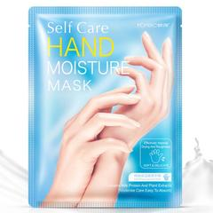 1 Pair Hanchan Milk Hand Mask Soft Moisturizing Anti Wrinkle Remove Hard Dead Skin Hand 1