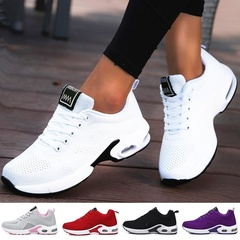 2019 Women Lightweight Sneakers Running Shoes Tennis Indoor Outdoor Sports Shoes Breathable white 35
