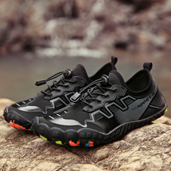 Summer Water Shoes Men Upstream Aqua Shoes Wome Quick Dry River  Diving Swimming  Tenis Masculino black 4.5