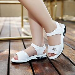 Girls Sandals 2019 New Flat Beach Shoes Girls Summer Girls Children Princess Shoes white 1