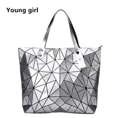 2019 Fashion Bao Women luxury Handbag Beach Hand Bags Hologram Shoulder Bag sac a main Messenger silver one size
