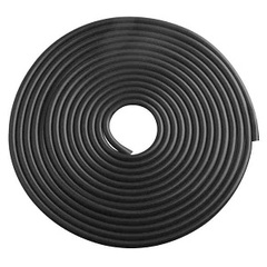 LOONFUNG Car Door Protective Strip Auto Door Edge Bumper  Scratch Cover Decorative Sealing Strips 5M Black 5m