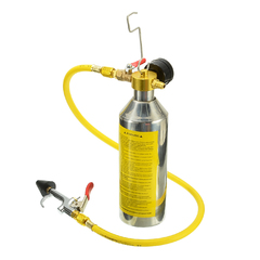 LOONFUNG Car Air Conditioning Pipe Cleaning Tool A/C Flush Canister Kits Bottle