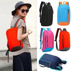 2019 Unisex Sports Backpack Hiking Rucksack Men Women School bags Versatile Backpack Pink one size
