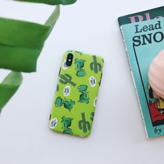 ZP Phones Case For iPhone 7/ 7plus/ iPhone 6/ iPhone 6plus/ iPhone x Dragon Printed Softy Case green for iphone 6 6s