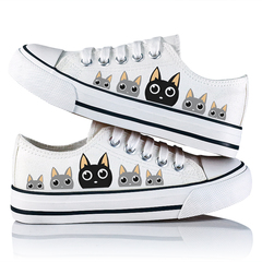 2019 girls lovely design canvas shoes fashion casual shoes comfortable shoes white1 39