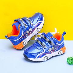 Altman's shoes 2019 antiskid shoes leisure car boy shoes Light Blue 28