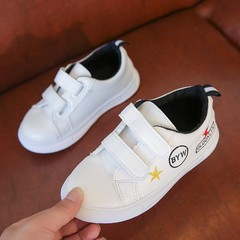 The new style children's shoes boy soft bottom casual shoes black 35
