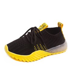 Girls shoes sports antiskid new casual shoes big size black 37