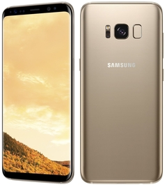 Certified Refurbished:Samsung Galaxy S8 64GB ROM+4G , 3500mAh,12+8MP, 5.8Inch single sim Smartphone gold