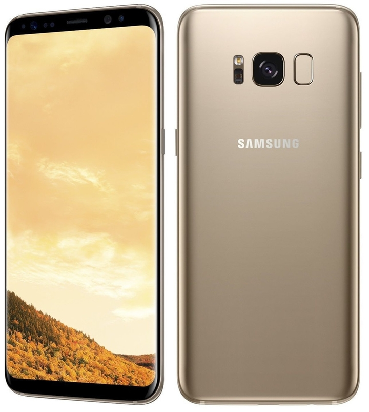 """Certified Refurbished:Samsung Galaxy S8 Plus 64GB+4GB  6.2"""" double sim 12+8MP smartphone sumsung S8+ gold"""