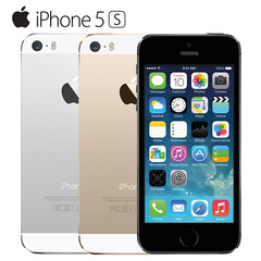 Certified Refurbished:apple iphone 5s 16G32G/64G +1GB mobile phone iphone5s 8MP without fingerprint black 16g