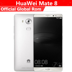 Refurbished Global Firmware Huawei Mate 8 3+32GB -6''Inch Dual SIM Smartphone Huawei Mate8 silver