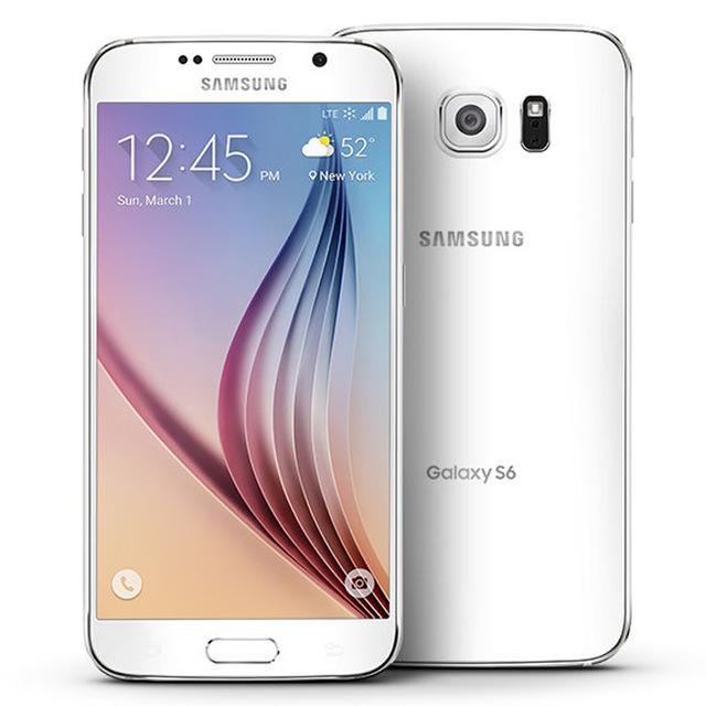 "Refurbished Samsung Galaxy S6 Smartphone 3GB RAM 32GB ROM 4G LTE 16MP 5.1"" SAMSUNG white"