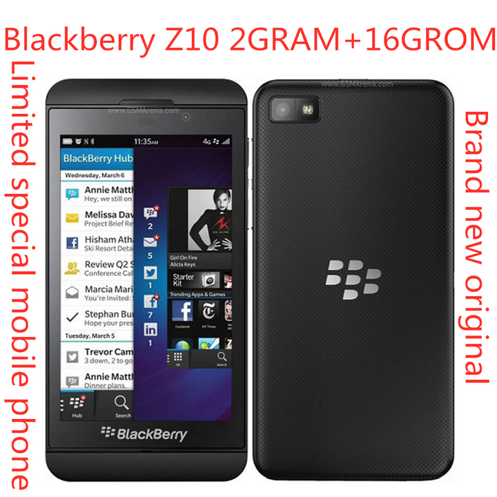 "Brand new Z10 Original unlocked Blackberry Dual-core GPS Wi-Fi 8.0MP 4.2""TouchScreen 2G RAM +16G ROM white"