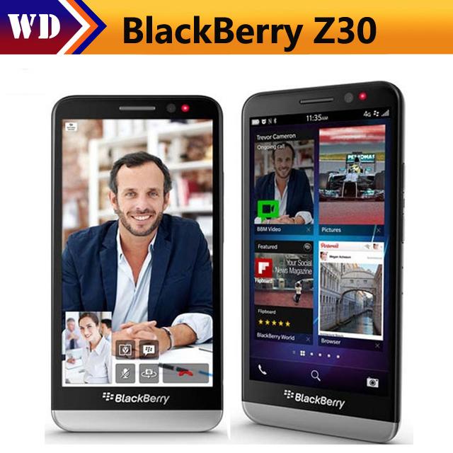 Brand New  smart phone Blackberry Z30 5.0 Inch 16GB ROM 2GB RAM WCDMA 3G 8MP Dual Core smartphone white