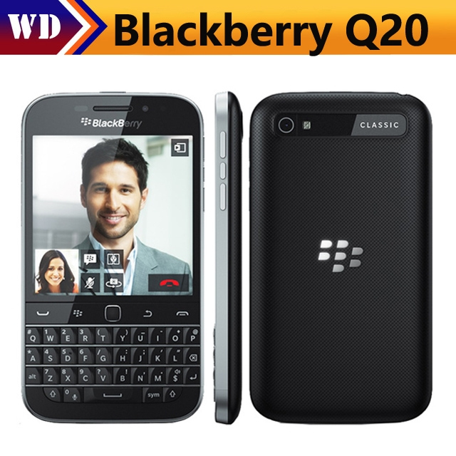 Refurbished Blackberry Q20 Inch 16GB ROM 2GB RAM 4G LTE 8MP Dual Core WIFI  Refurbished phone black