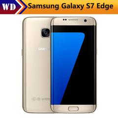Refurbished Samsung Galaxy S7 edge Original Unlocked 4G LTE  12MP&5MP RAM 4GB ROM 32GB WIFI GPS gold 4+32g single sim
